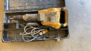 DeWalt demolition hammer