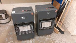 Gas room heaters
