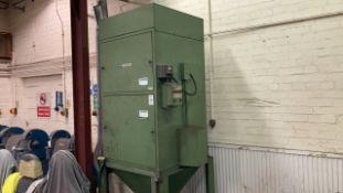 Dust extraction unit