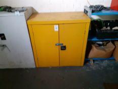 Haz Chem cupboard