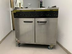 Buffalo 6 burner oven range NO RESERVE