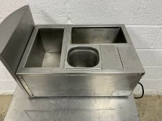 Pasta king MCT Counter top bain marie, Dry & wet heated bain marie, this has been chemically cleaned