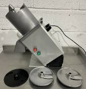 Hobart VPU200 Vegeatble preparation machine & blades