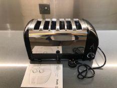 Dualit 6 slot bun toaster