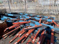 Adjustable Floor Mounted Bar /Tube Racking (3 of)