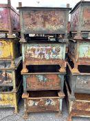 Swarf/Parts Stackable Storage Bins (4 of)