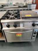 Baron 2 gas hob, Hotplate and oven