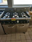Scott benham 6 gas hob and oven