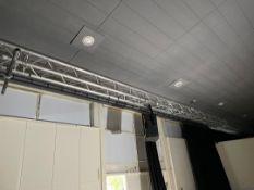 Lighting Gantrys 3 Off & Pair Of RCF Speakers
