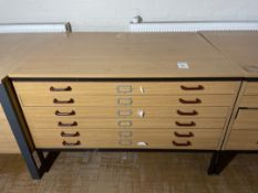 Multi Drawer Storage Cabinet