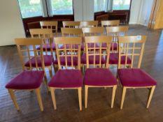 Chairs x 12