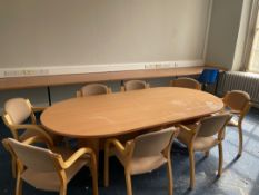 8 seater Table & Chairs