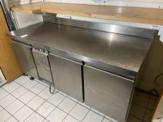 Zanussi Bench Style Refrigerator