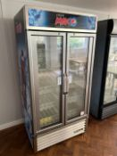 Pepsi Max Branded Refrigerator By True