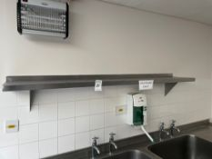 Stainless Steel Shelves x2