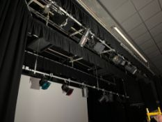 Stage Lighting Rigs/Lights/Curtains & Screen
