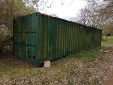 40ft shipping container