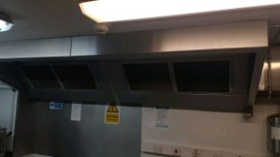 Fume extraction canopy