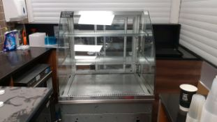 Chilled food display cabinet