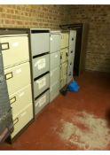 Filing cabinets x 5
