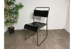 Nest-a-Bye Black Chair x2