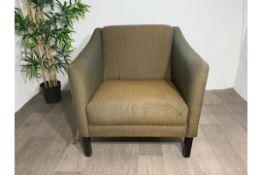 Commercial Grade Brown Armchair x 2