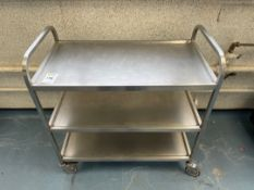 Mobile Stainless Steel Trolley