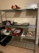 Mobile Storage Rack & Contents