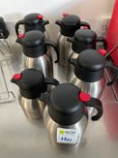 Genware Milk & Hot Water Piuring Jugs