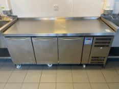 Gram KB 1807 SEB Bench Style Refrigerator