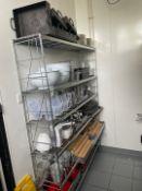 Storage Rack & Contents