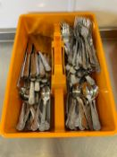 Selection Of Kings Cutlery & Tray