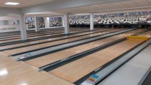 Brunswick 10 lane bowling alley