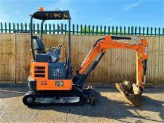 Hitachi ZX19U-5 Excavator Digger 2016