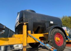 500 gallon towable water bowser trailer for dust suppression