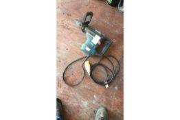 Makita AVT HR4013C hammer drill 1100w, 110v, s/No. 66615, 2017 (A945719)