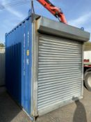 10ft High Cube Storage Container With Roller Shutter Door