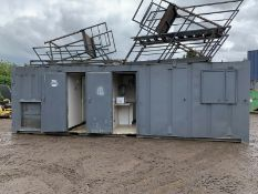 Anti Vandal Steel Portable Welfare Unit Complete With Generator