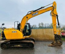 JCB JS130 LC Excavator 2014
