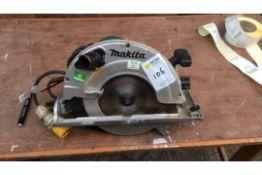 Makita 5903R circular saw, 110v 1550w, y of m 2013, s/No 548998G, 230mm blade, (A628247)