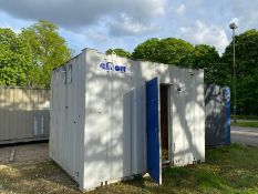 12ft site office cabin container