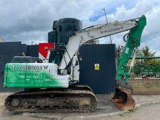 Hyundai Robex 140 lc-9a Excavator 2014