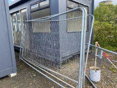 Hera fence panels x 4