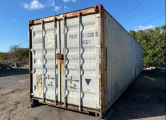 40ft x 8ft storage container shipping container