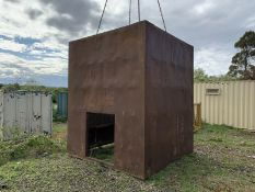 Trench box 8ft x 8ft x 8ft