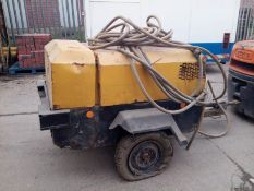 Road towable compressor