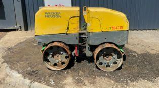 Wacker Neuson rtsc2 trench roller 2014