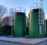 Storage Containers Two 24,000 Litre Storage tanks by Chemresist Ltd