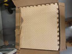Foam floor mats in box x 26