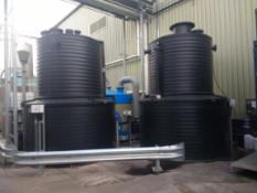 Two x bunded Storage tanks 6000 l